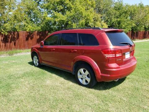 2010 Dodge Journey for sale at El Jasho Motors in Grand Prairie TX