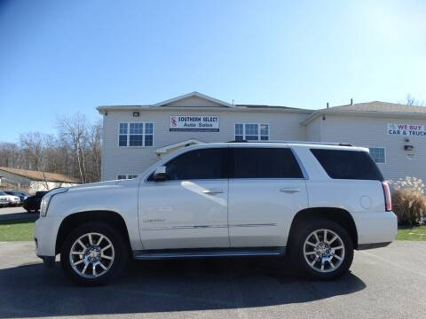 2015 GMC Yukon for sale at SOUTHERN SELECT AUTO SALES in Medina OH