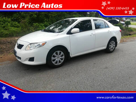 2009 Toyota Corolla for sale at Low Price Autos in Beaumont TX