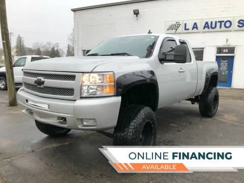 2010 Chevrolet Silverado 1500 for sale at LA Auto & RV Sales and Service in Lapeer MI