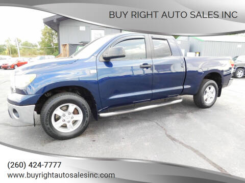 2007 Toyota Tundra for sale at Buy Right Auto Sales Inc in Fort Wayne IN