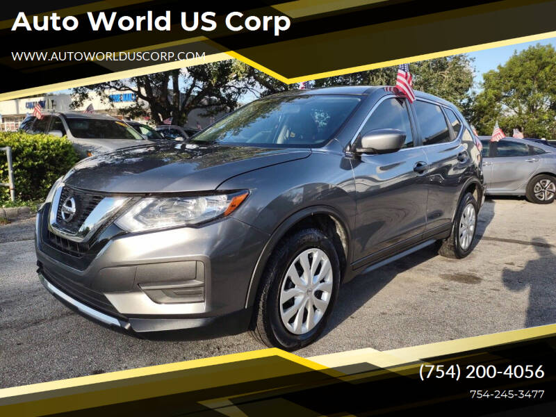 2018 Nissan Rogue for sale at Auto World US Corp in Plantation FL