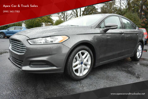 2016 Ford Fusion for sale at Apex Car & Truck Sales in Apex NC