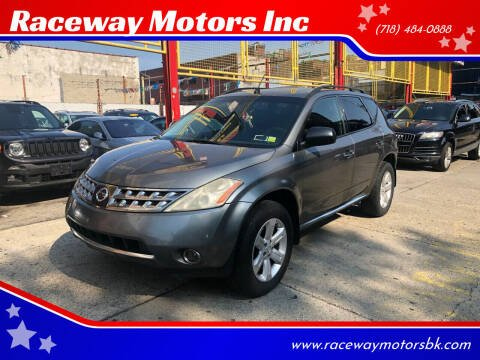 2006 Nissan Murano for sale at Raceway Motors Inc in Brooklyn NY