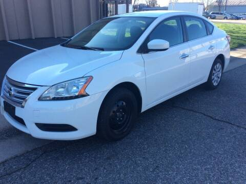 2015 Nissan Sentra for sale at AROUND THE WORLD AUTO SALES in Denver CO