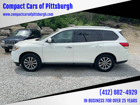 2014 Nissan Pathfinder for sale at Compact Cars of Pittsburgh in Pittsburgh PA