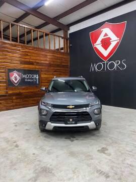 2021 Chevrolet TrailBlazer for sale at A & V MOTORS in Hidalgo TX