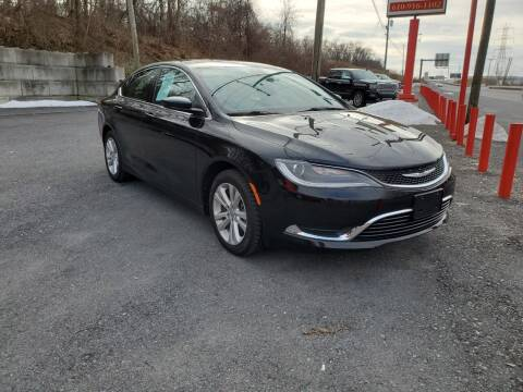 2016 Chrysler 200 for sale at K B Motors Inc in Reading PA