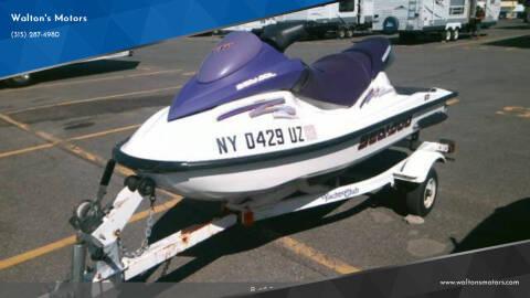 2003 Seadoo GTI for sale at Walton's Motors in Gouverneur NY