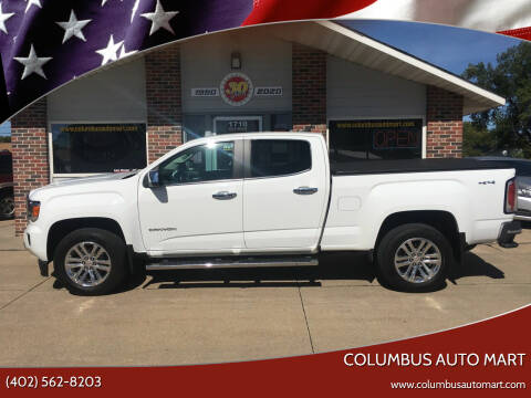 2015 GMC Canyon for sale at Columbus Auto Mart in Columbus NE