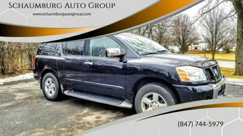 2004 Nissan Armada for sale at Schaumburg Auto Group in Schaumburg IL