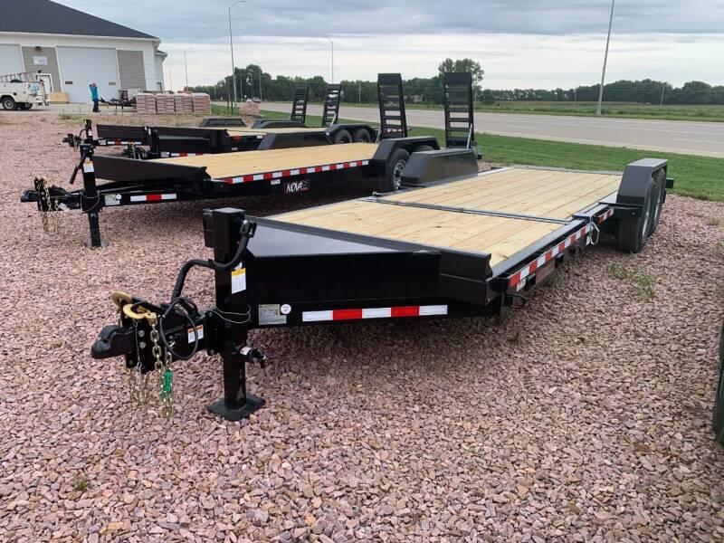 2021 Midsota TB-22 Split Tilt #5921 for sale at Prairie Wind Trailers, LLC in Harrisburg SD