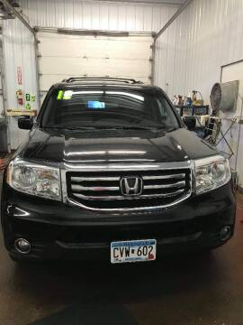 2012 Honda Pilot for sale at WB Auto Sales LLC in Barnum MN