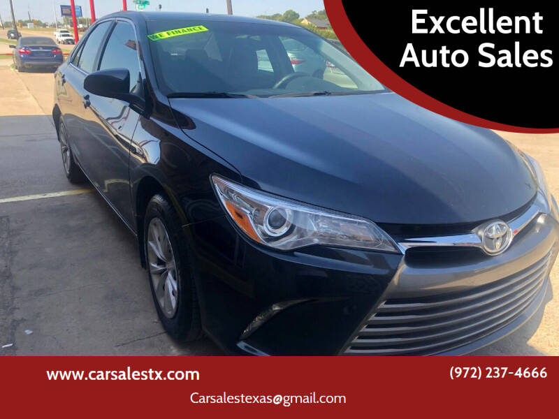 2015 Toyota Camry for sale at Excellent Auto Sales in Grand Prairie TX