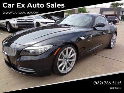 2012 BMW Z4 for sale at Car Ex Auto Sales in Houston TX