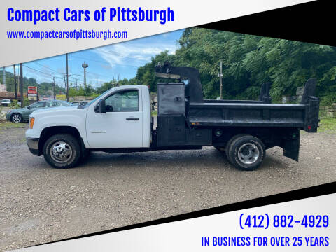 2013 GMC Sierra 3500HD for sale at Compact Cars of Pittsburgh in Pittsburgh PA