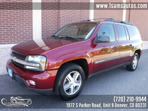 2004 Chevrolet TrailBlazer EXT for sale at SAM'S AUTOMOTIVE in Denver CO