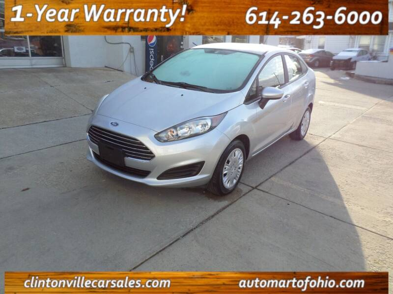 2018 Ford Fiesta for sale at Clintonville Car Sales in Columbus OH