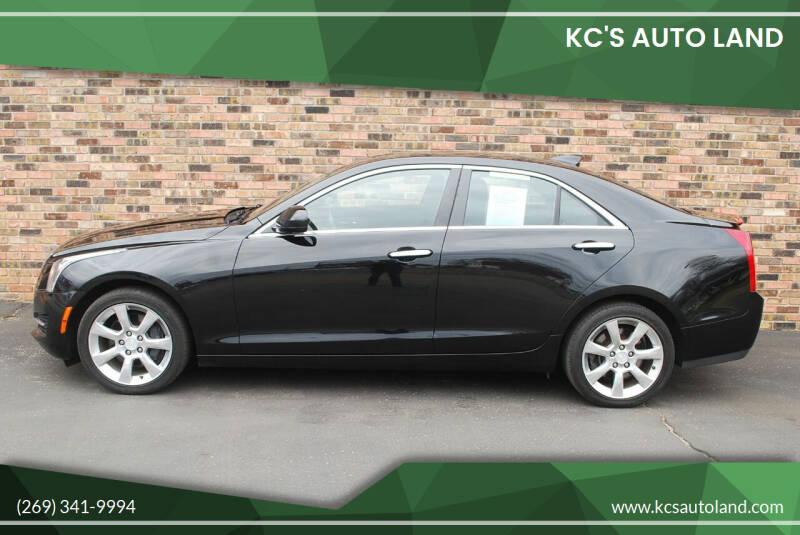 2015 Cadillac ATS for sale at KC'S Auto Land in Kalamazoo MI