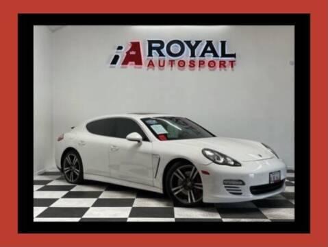 2011 Porsche Panamera for sale at Royal AutoSport in Sacramento CA