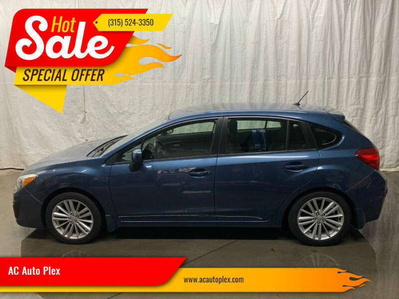 2012 Subaru Impreza for sale at AC Auto Plex in Ontario NY