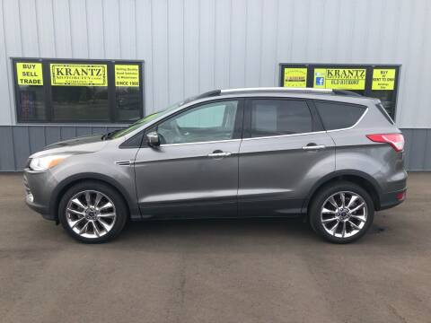 2014 Ford Escape for sale at Krantz Motor City in Watertown SD