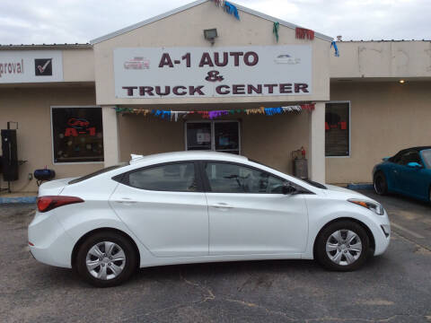 2016 Hyundai Elantra for sale at A-1 AUTO AND TRUCK CENTER in Memphis TN