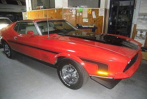 1971 Ford Mustang for sale at Black Tie Classics in Stratford NJ
