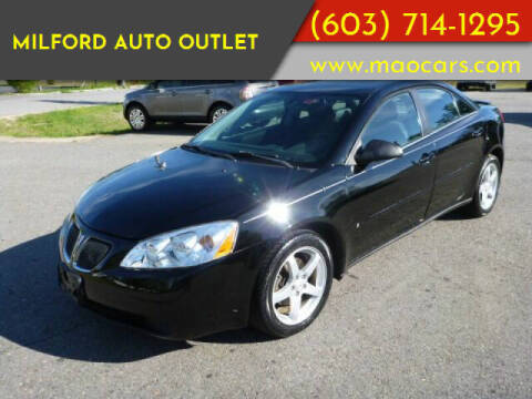 2007 Pontiac G6 for sale at Milford Auto Outlet in Milford NH