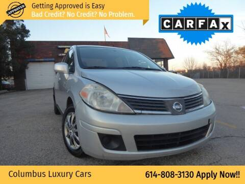 2009 Nissan Versa for sale at Columbus Luxury Cars in Columbus OH