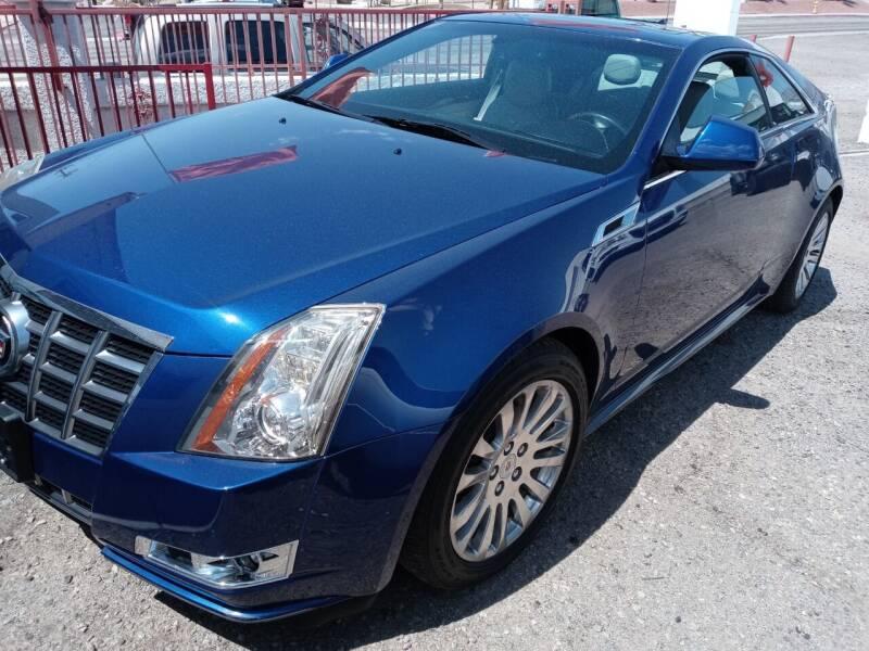 2012 Cadillac CTS for sale at ACE AUTO SALES in Lake Havasu City AZ