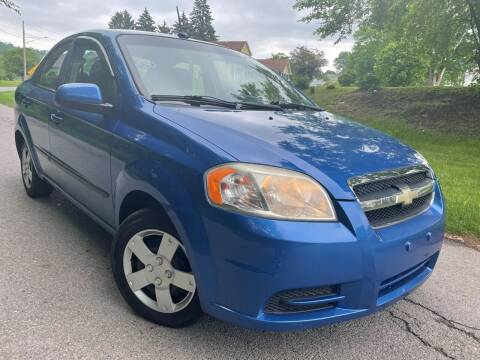 2010 Chevrolet Aveo for sale at Trocci's Auto Sales in West Pittsburg PA