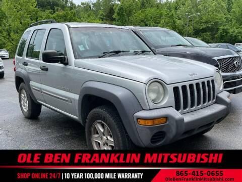 2002 Jeep Liberty for sale at Ole Ben Franklin Mitsbishi in Oak Ridge TN