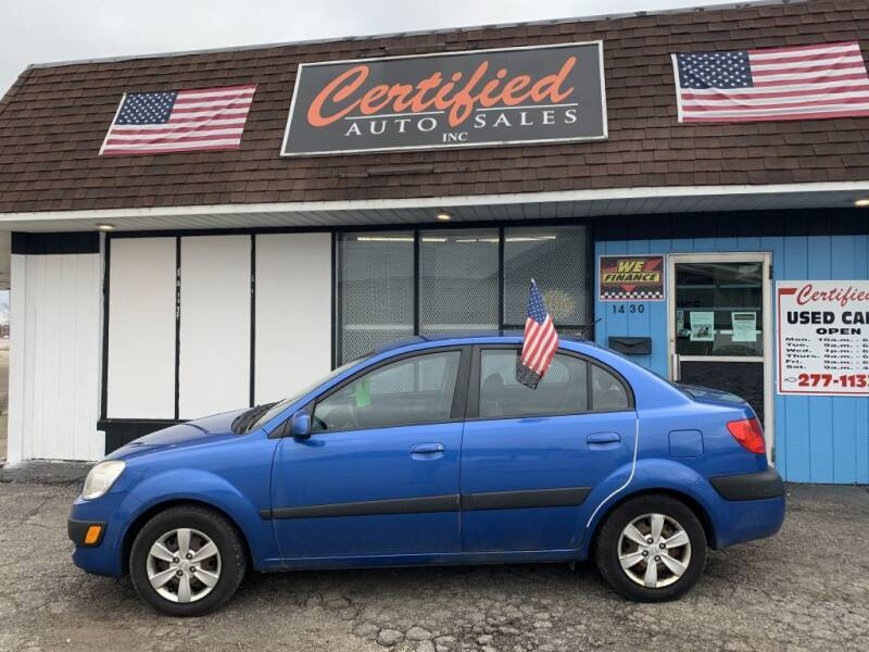 2008 Kia Rio for sale at Certified Auto Sales, Inc in Lorain OH