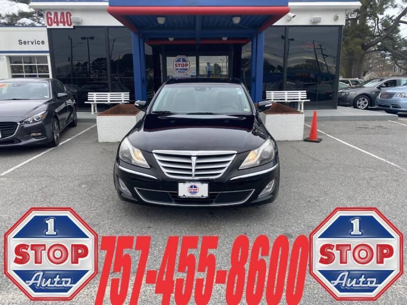 2012 Hyundai Genesis for sale at 1 Stop Auto in Norfolk VA