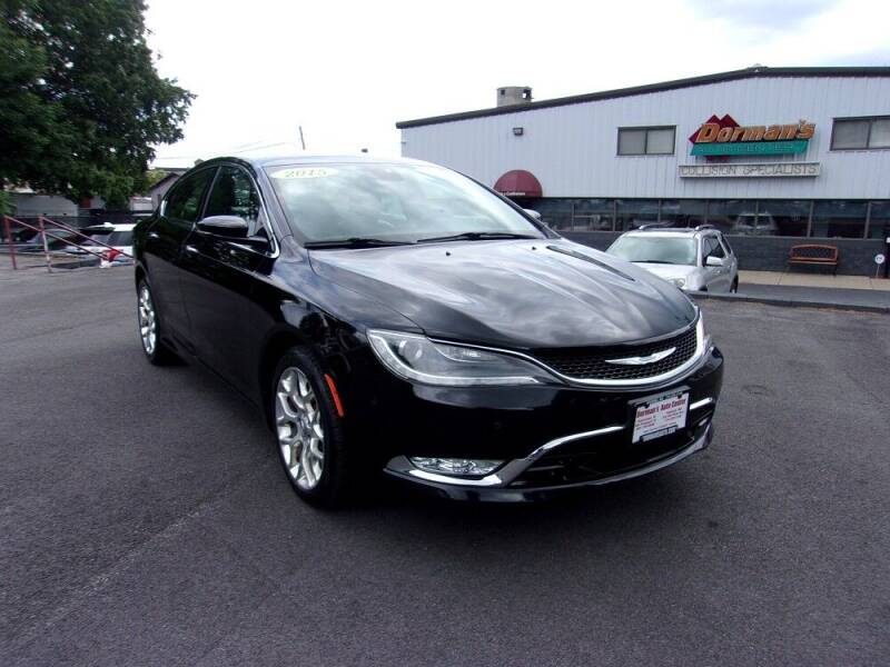 2015 Chrysler 200 for sale at Dorman's Auto Center inc. in Pawtucket RI