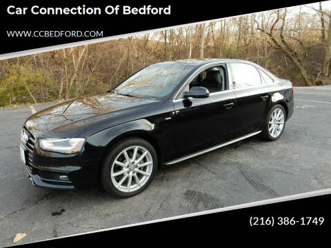 2015 Audi A4 for sale at Car Connection of Bedford in Bedford OH