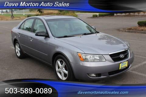 2007 Hyundai Sonata for sale at Dave Morton Auto Sales in Salem OR