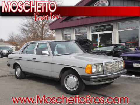 1983 Mercedes-Benz 240d for sale at Moschetto Bros. Inc in Methuen MA
