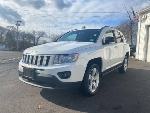 2013 Jeep Compass for sale at SOUTH SHORE AUTO GALLERY, INC. in Abington MA