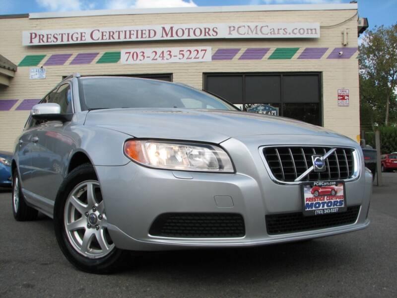 2008 Volvo V70 for sale at Prestige Certified Motors in Falls Church VA