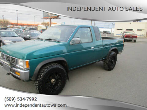 1995 Nissan Truck for sale at Independent Auto Sales in Spokane Valley WA