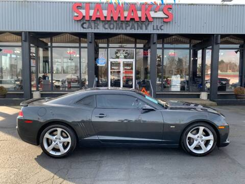 2015 Chevrolet Camaro for sale at Siamak's Car Company llc in Salem OR