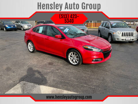 2013 Dodge Dart for sale at Hensley Auto Group in Middletown OH