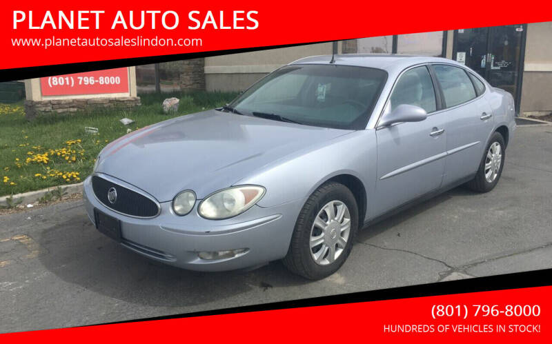 2005 Buick LaCrosse for sale at PLANET AUTO SALES in Lindon UT