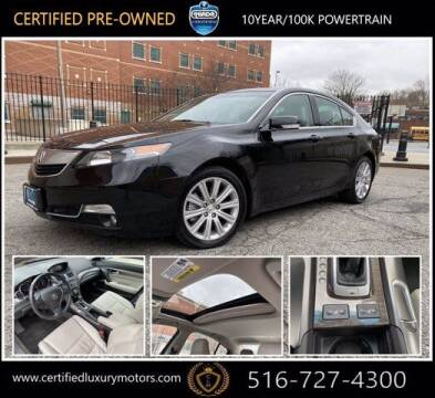 2014 Acura TL for sale at Certified Luxury Motors in Great Neck NY