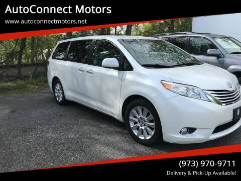 2012 Toyota Sienna for sale at AutoConnect Motors in Kenvil NJ