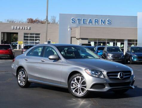 2015 Mercedes-Benz C-Class for sale at Stearns Ford in Burlington NC