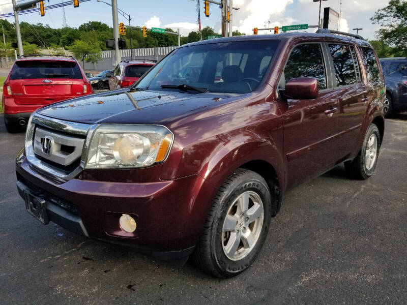 2011 Honda Pilot for sale at Cedar Auto Group LLC in Akron OH