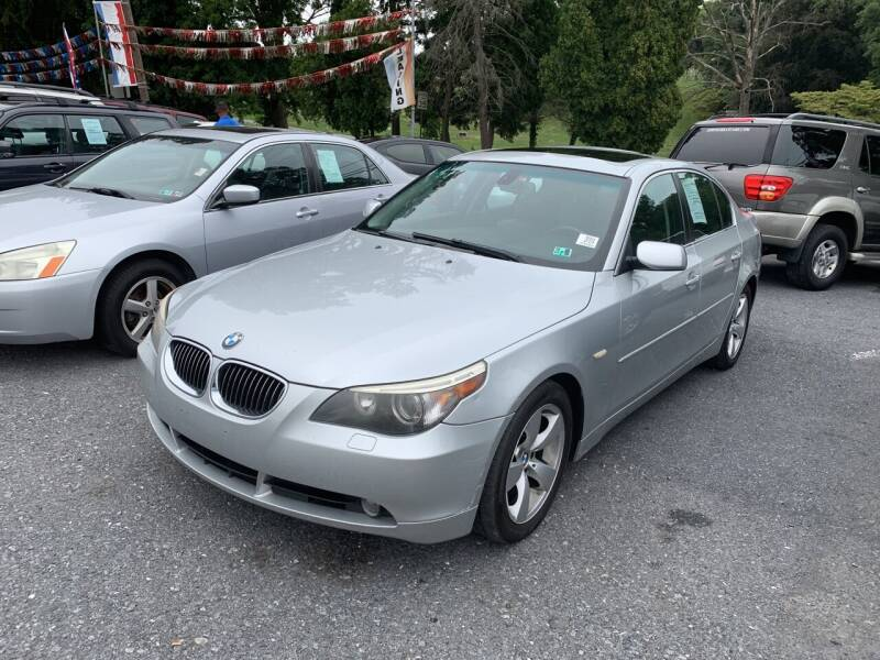 2007 BMW 5 Series for sale at Harrisburg Auto Center Inc. in Harrisburg PA